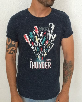 Camiseta Thunder Dark Heather Denim