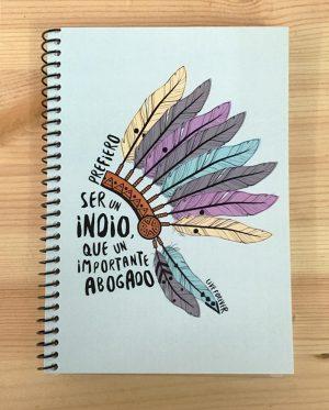 Libreta Indio