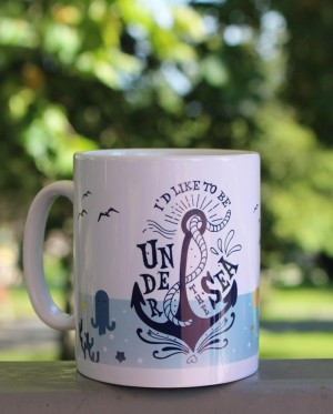 "Taza de cerámica ""Under the sea"""