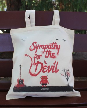 """Tote Bag """"Devil"""" - Bolso"""