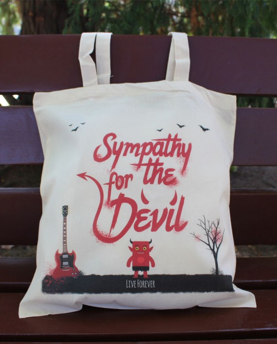 "Tote Bag ""Devil"" - Bolso"