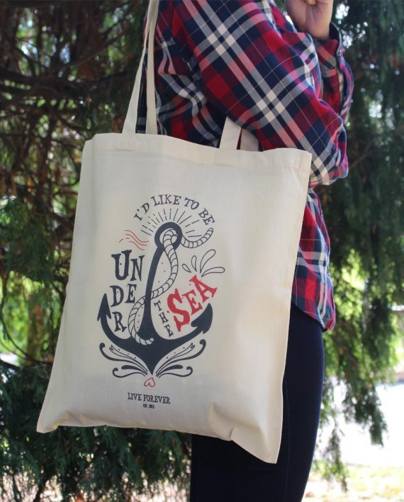 "Tote Bag ""Under the sea"" - Bolso"