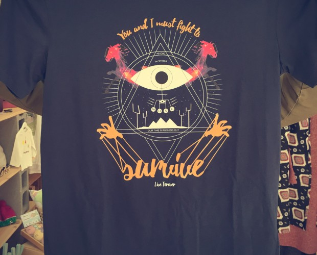 Camiseta Muse Survive - Live Forever