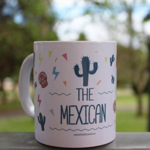Taza Mexican - Live Forever
