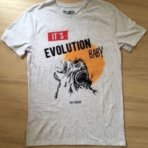 Camiseta Pearl Jam - Evolution - Live forever