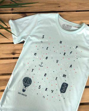 Camiseta Supernova Oasis - Live Forever