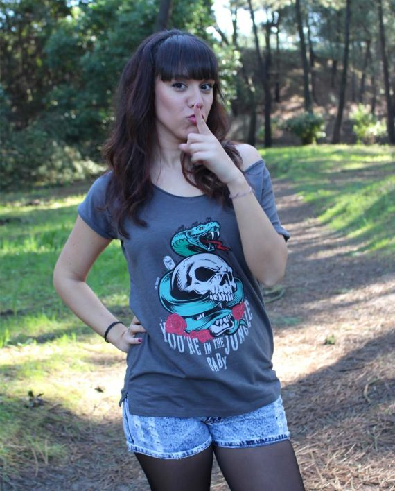 Jungle Girl - Camiseta Chica