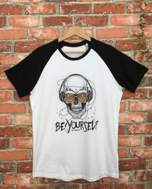 Be Yourself - Camiseta Beisbolera - Unisex - Live Forever