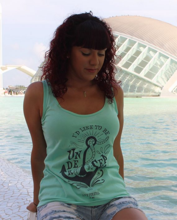 Camiseta Under the sea - Live Forever
