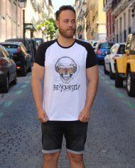 Be Yourself – Camiseta Beisbolera – Unisex – Live Forever