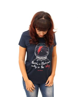 Camiseta David Bowie - Lady Starman - Chica