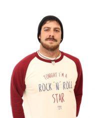 Sudadera Rock n Roll Star – Sudadera Beisbolera – Unisex
