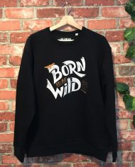 1Sudadera Wild – Born to be wild – Live Forever