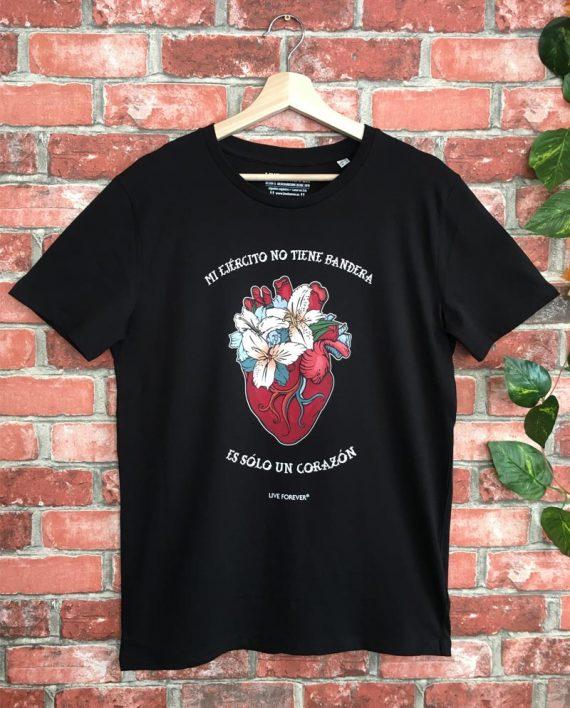 Camiseta Corazón - Live Forever