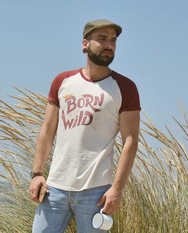 Camiseta Born to be wild - Unisex - Live Forever