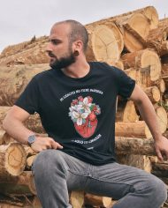 Camiseta Corazón – Camsieta Extremoduro – Live Forever