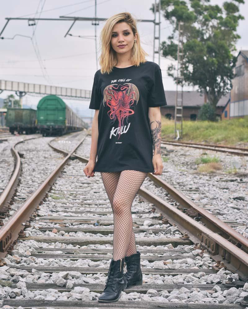 Camiseta Metallica - Ktulu - Unisex - Live Forever