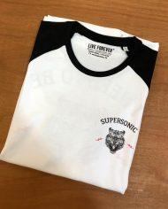 Camiseta Supersonic – Camsieta Oasis – Live Forever