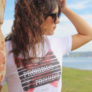 Camiseta Prohibir - Camiseta Unisex- Live Forever - 15efa8b8a0a