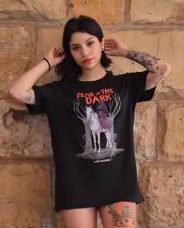 Camiseta Dark - Camiseta Iron Maiden - Unisex - Live Forever ®