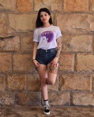 Camiseta Respect – Camiseta Aretha Franklin – Chica – Live Forever ®