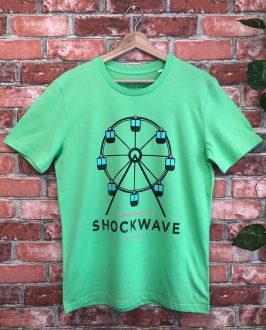 Camiseta Shockwave - Camiseta Liam Gallahger - Unisex - Live Forever ®
