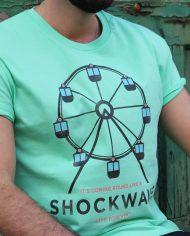 Camiseta Shockwave – Camiseta Liam Gallahger – Unisex – Live Forever ®