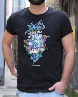 Camiseta Vetusta Morla - Camiseta Rabia - Unisex - Live Forever ®