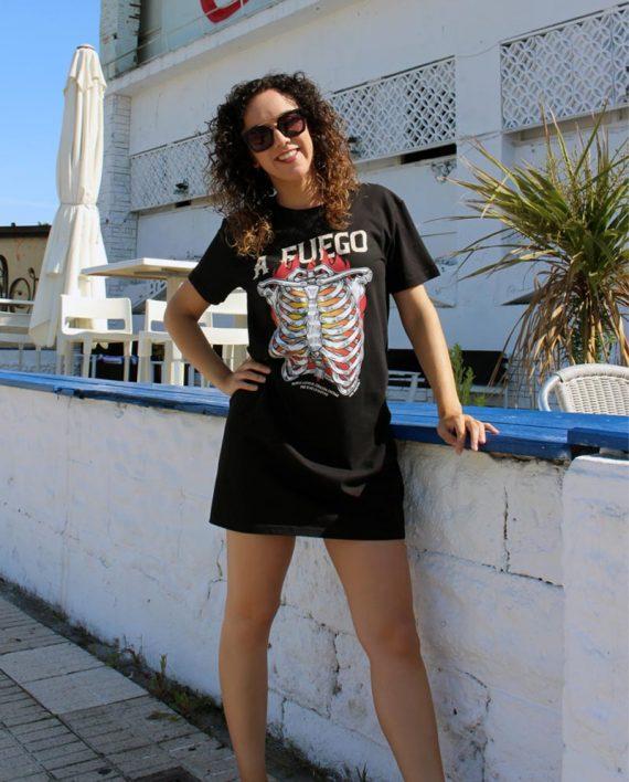 Vestido Fuego - Live Forever ®