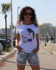 Camiseta Amapola – Camiseta de Chica – Camsieta Extremoduro – Live Forever ®