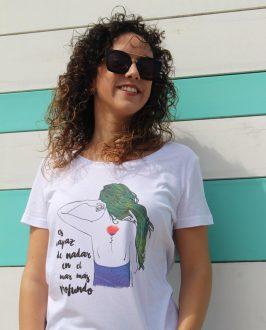 Camiseta Amapola - Camiseta de Chica - Camsieta Extremoduro - Live Forever ®