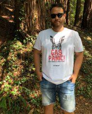 Camiseta Gas Panic – Camiseta Oasis – Camsieta Unisex – Live Forever ®