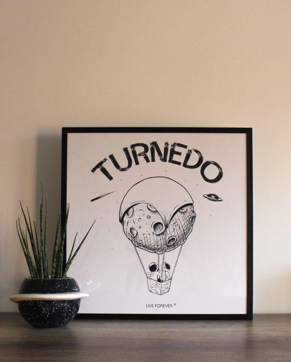 Lámina Turnedo - Live Forever ®