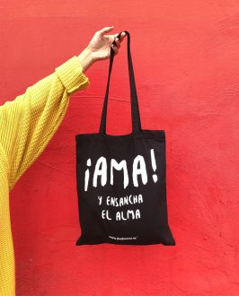 Bolso AMA - Tote Bag Unisex - Live Forever ®