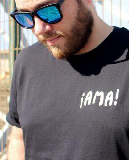 Camiseta AMA INDIO - Chico - Unisex - Camsieta Extremoduro - Live Forever ®