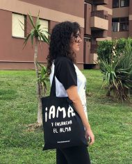 Bolso AMA – Tote Bag Unisex – Live Forever ®