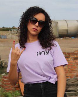 Camiseta AMA INDIA - Chica - Camsieta Extremoduro - Live Forever ®