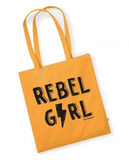 Tote Bag REBEL GIRL - Tote Bag Feminista - Rebel Girl - Live Forever ®