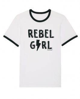 Camiseta REBEL GIRL - Camiseta Feminista - Rebel Girl - Live Forever ®