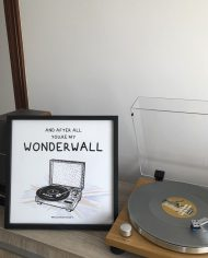 Oasis – Poster Oasis – Wonderwall – Lámina Wonderwall – Live Forever ®