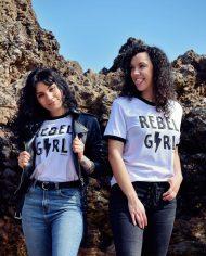 Camiseta REBEL GIRL – Camiseta Feminista – Rebel Girl – Live Forever ®