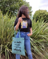 Tote Bag Colores – Tote Bag Extremoduro – Tote Bag de algodón orgánico – Live Forever ®