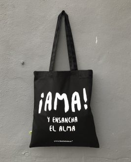 Bolso AMA - Tote Bag AMA - Bolso Extremoduro - Live Forever ®