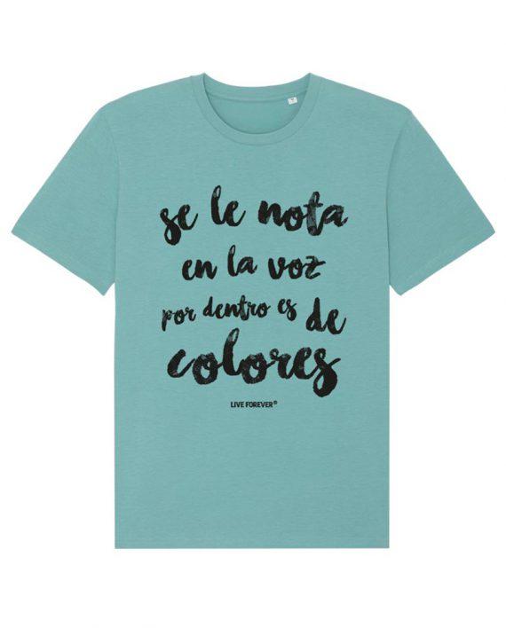 Camiseta Colores - Camiseta Extremoduro - Camiseta Unisex - Camiseta de algodón orgánico - Live Forever ®