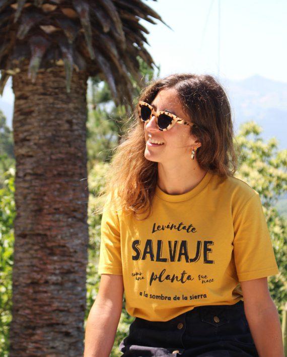 Camiseta SALVAJE - Camiseta Unisex - Camiseta de algodón orgánico - Live Forever ®