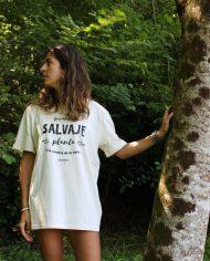 Camiseta Salvaje – Camiseta La Raíz – Camiseta Unisex – Live Forever ®